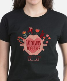 Personalized 10th Anniversary Tee