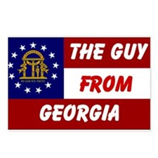 GEORGIA GUY Postcards (Package of 8)