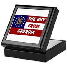 GEORGIA GUY Keepsake Box