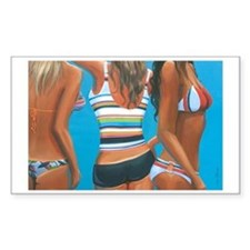 Beach Bodies by Leisa O Decal