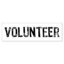 Volunteer Bumper Sticker