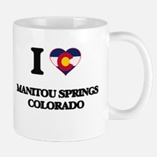 I love Manitou Springs Colorado Mugs