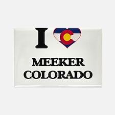 I love Meeker Colorado Magnets