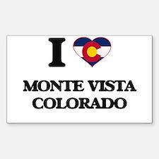I love Monte Vista Colorado Decal