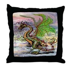Unique Dragon lovers Throw Pillow