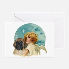 Apricot pup w/Angel Greeting Card