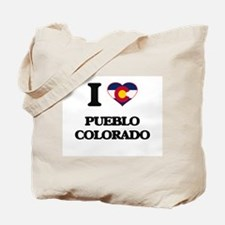 I love Pueblo Colorado Tote Bag