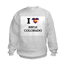 I love Rifle Colorado Sweatshirt
