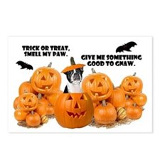 Trick Or Treat (Boston Terrier) Postcards (Package