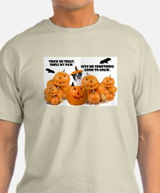 Trick Or Treat (Boston Terrier) T-Shirt