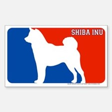 """Shiba Inu"" MLD Rectangle Decal"