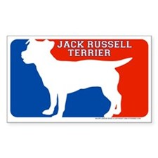 """""""Jack Russell"""" MLD Rectangle Decal"""