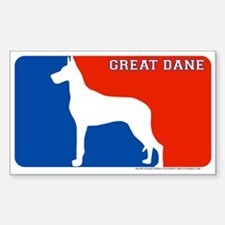 """Great Dane"" MLD Rectangle Decal"