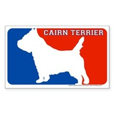 """""""Cairn Terrier"""" MLD Rectangle Decal"""