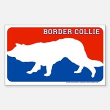 """""""Border Collie"""" MLD Rectangle Decal"""