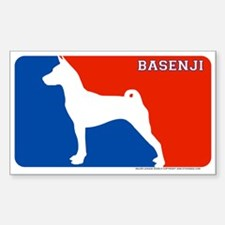 """Basenji"" MLD Rectangle Decal"