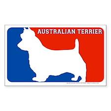 """Australian Terrier"" MLD Rectangle Decal"