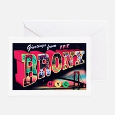 Bronx New York City Greeting Card