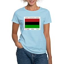 Bendera Kwanzaa Colors T-Shirt