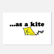 HIGH as a kite Postcards (Package of 8)