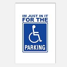 Handicap Parking Postcards (Package of 8)