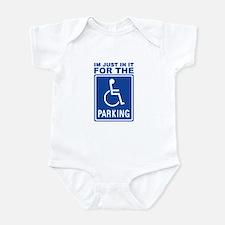Handicap Parking Infant Bodysuit