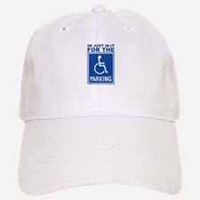 Handicap Parking Baseball Baseball Cap