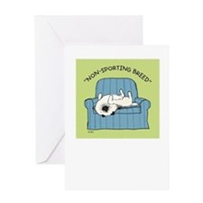 Keeshond Non-Sporting Breed Greeting Card