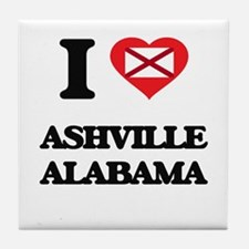 I love Ashville Alabama Tile Coaster