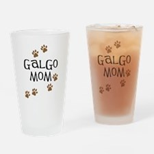 Galgo Mom Drinking Glass