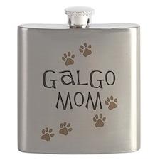 Galgo Mom Flask