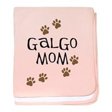 Galgo Mom baby blanket