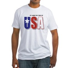 USA In God We Trust Shirt