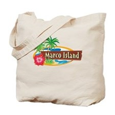 Classic Marco Island - Tote or Beach Bag