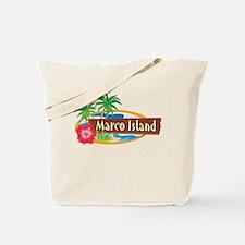 Classic Marco Island - Tote or Beach Bag