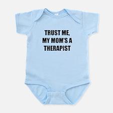 Trust Me My Moms A Therapist Body Suit