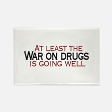 War on Drugs Rectangle Magnet