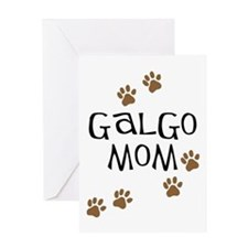 Galgo Mom Greeting Cards