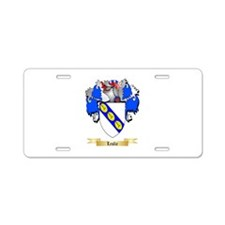 Leslie Aluminum License Plate