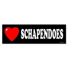 SCHAPENDOES Bumper Bumper Sticker