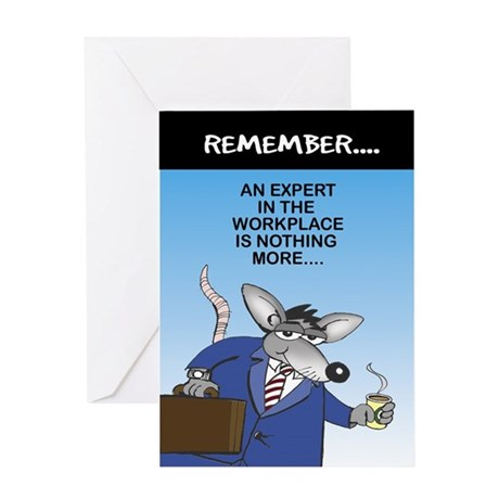 Expert in the Workplace - Greeting Card