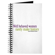 Well Behaved Women Journal