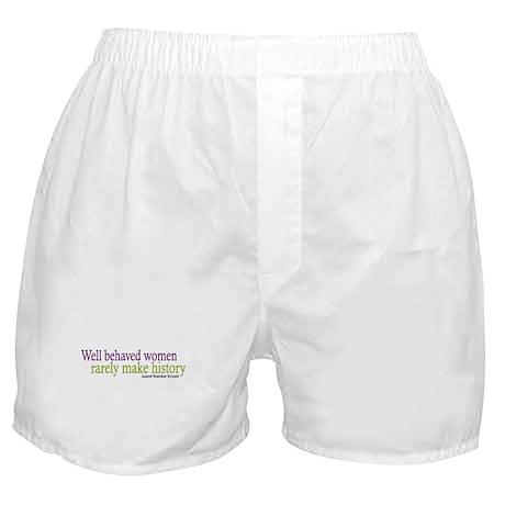 Well Behaved Women Boxer Shorts