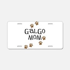 Galgo Mom Aluminum License Plate