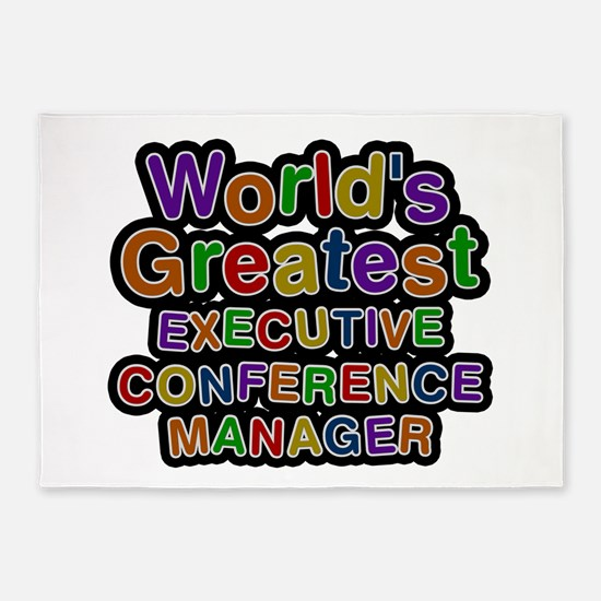 World's Greatest EXECUTIVE CONFERENCE MANAGER 5'x7