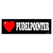 PUDELPOINTER Bumper Bumper Sticker