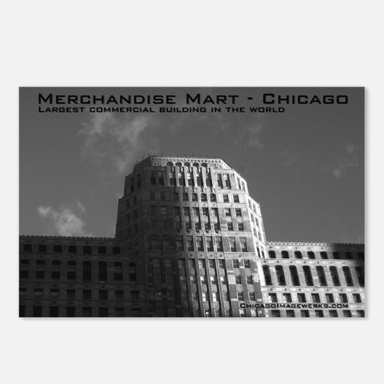 Merchandise Mart Postcards B&W (Package of 8)