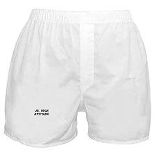 Jr. High Attitude Boxer Shorts