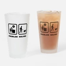 Schapendoes Drinking Glass