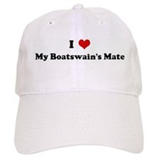 I Love My Boatswain's Mate Baseball Cap